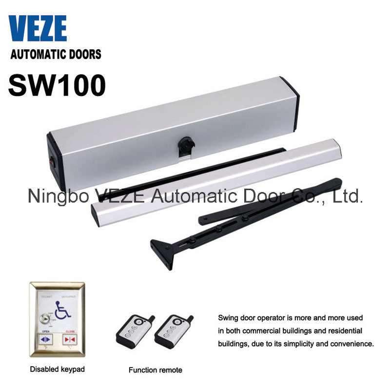 Veze Electric Door Closer with Push Arm (SW100)