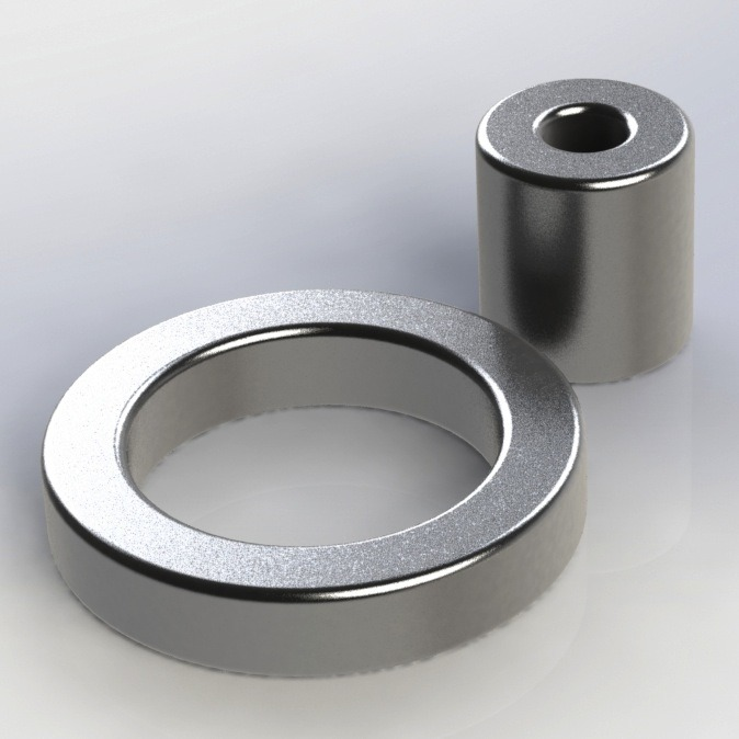 Ring Permanent Sintered NdFeB Iron Boron Magnet Used in Packing