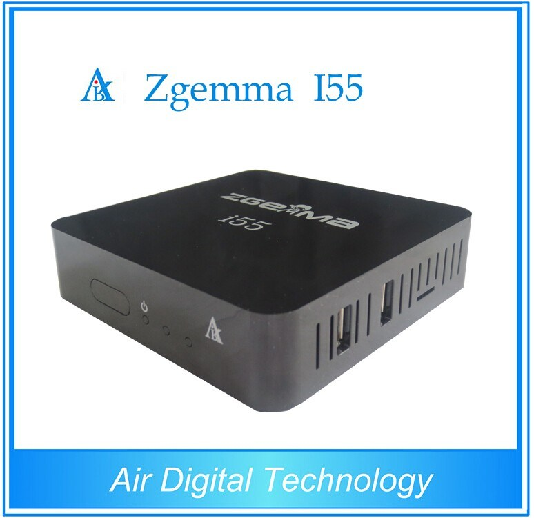 2016 New Best IPTV Streaming Box Zgemma I55 High CPU Dual Core HD 1080P USB WiFi Player