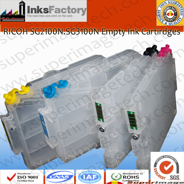 Empty Ink Cartridges for Ricoh Sg2100n/Sg3100n/Sg7100/Sg3110