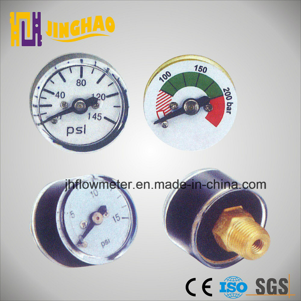 23mm 25mm Chrome Color Nickel Plated Mini Manometer (JH-YL-MN)