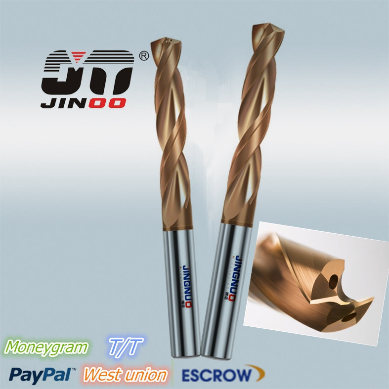 2 Flutes High Quality Tungsten Carbide Twist Drill Bit