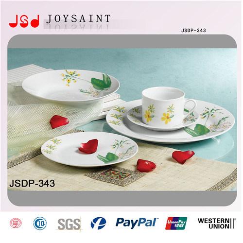 Ceramic Plate Set with Different Design or Customer′s Design