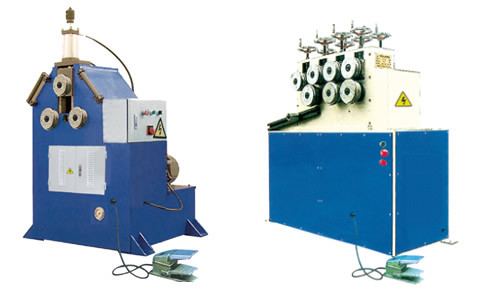 Hydraulic 3 Roll Bending Machine for Steel Pipe Tube