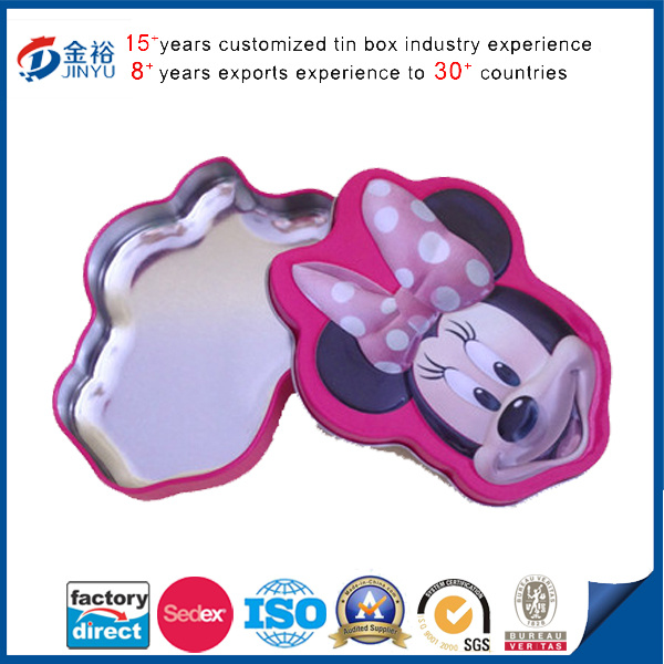 Little Kids Jewelry Tin Boxes
