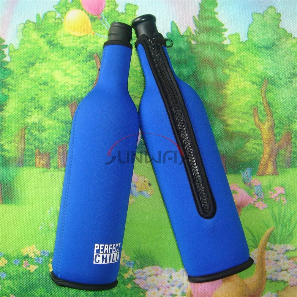 Beer Beverage Holder, Neoprene Insulated Wine Bottle Cooler Bag (BC0006)