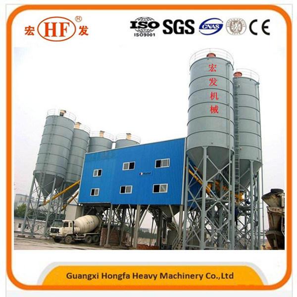 Concrete Batching Plant, Mixed Concrete Hzs60 Ready Mix Concrete Plant