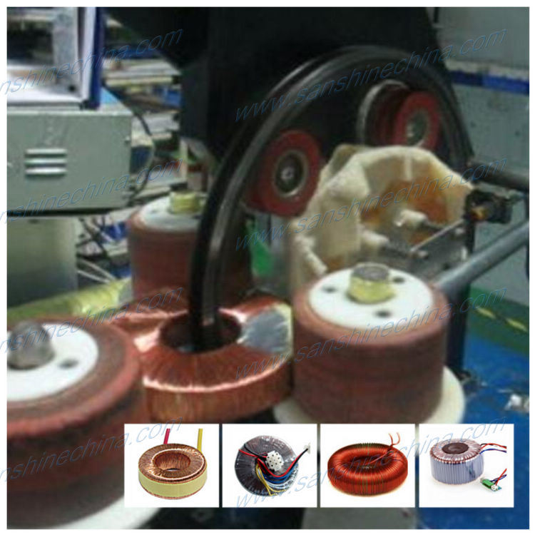 Slider Type Automatic Big Toroid Coil Winding Machine (SS300S-01)