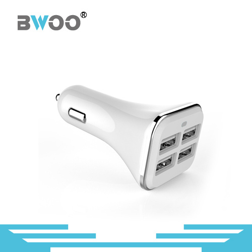 Portable 4 USB Ports USB Car Charger Power Charger
