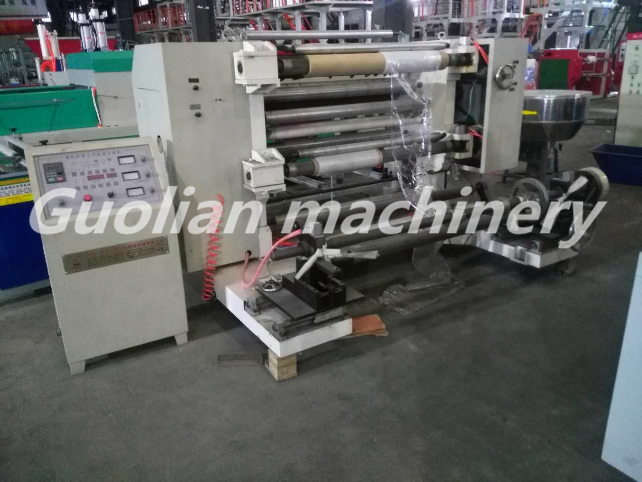 High Speed Film/Paper Slitting Machine