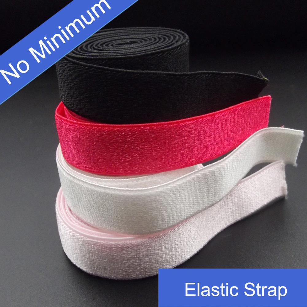 12mm Satin Shining Swimwear Elastic Strap in Stock