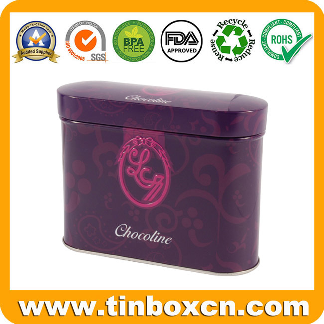 Chocolate Tin, Chocolate Box, Tin Chocolate Can, Food Tin Box
