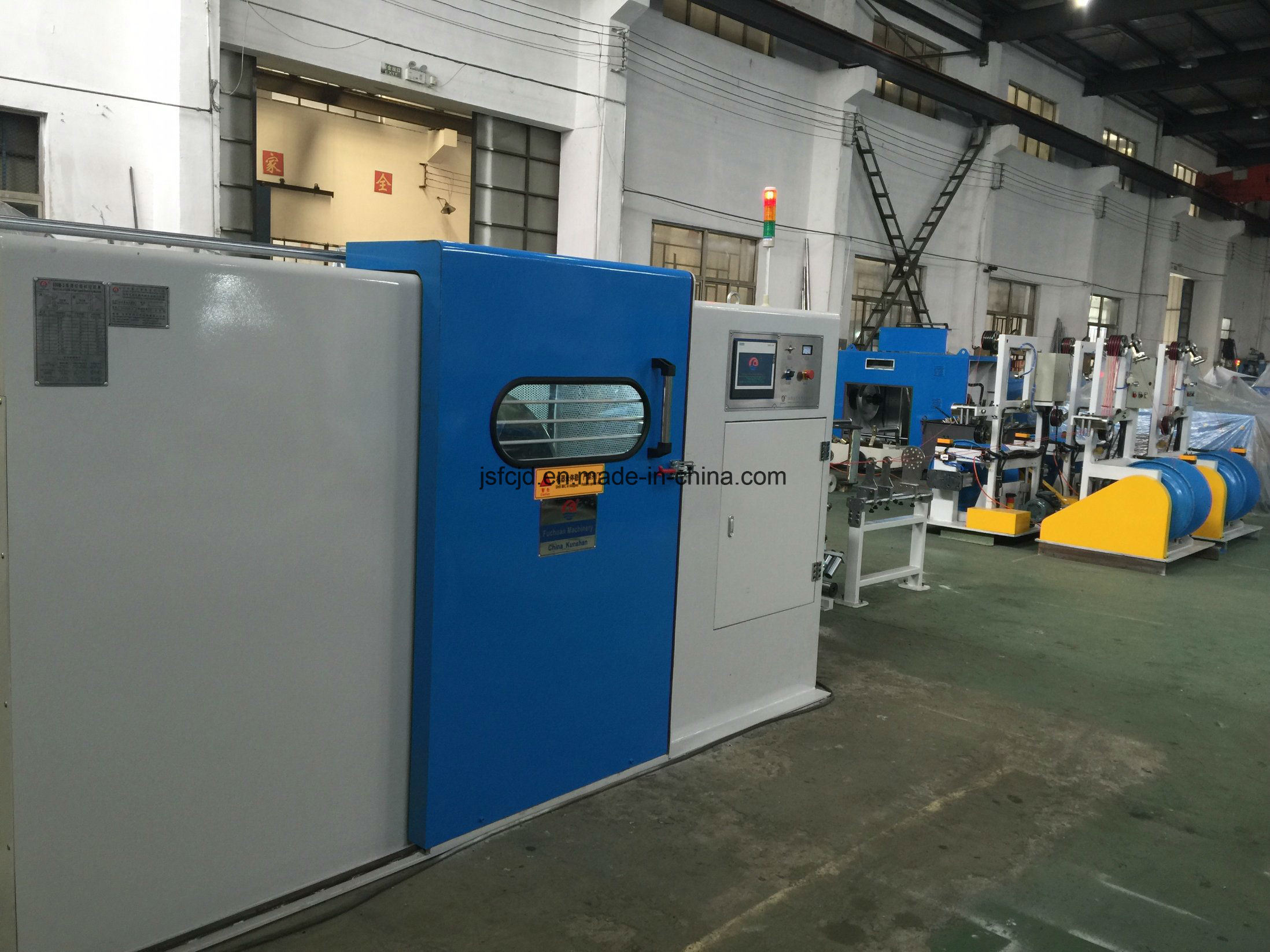 Bare Copper Wire, Tinned Wire Twisting Machinery (FC-800B)