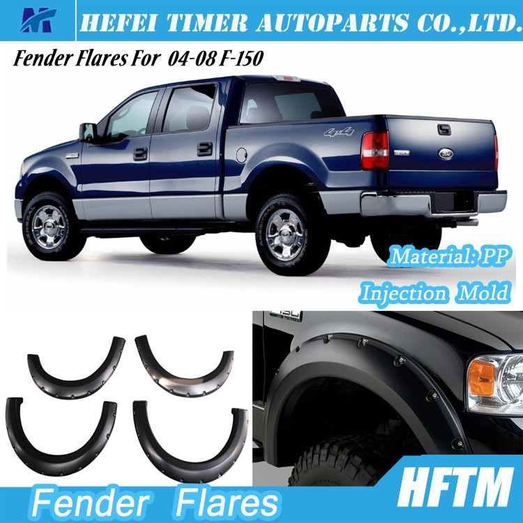 for Ford F-150 04-08 Canada 4X4 Pickup Fender Flares
