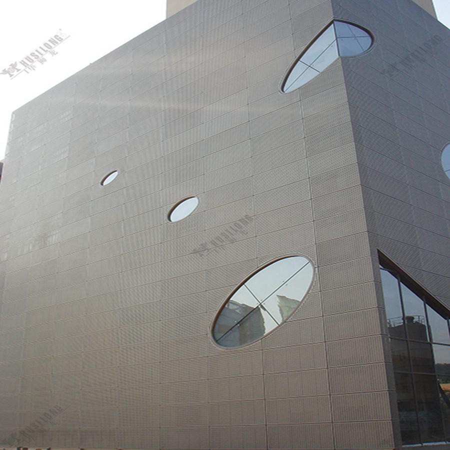 PVDF Coating Fireproof Aluminum Curtain Wall Panel
