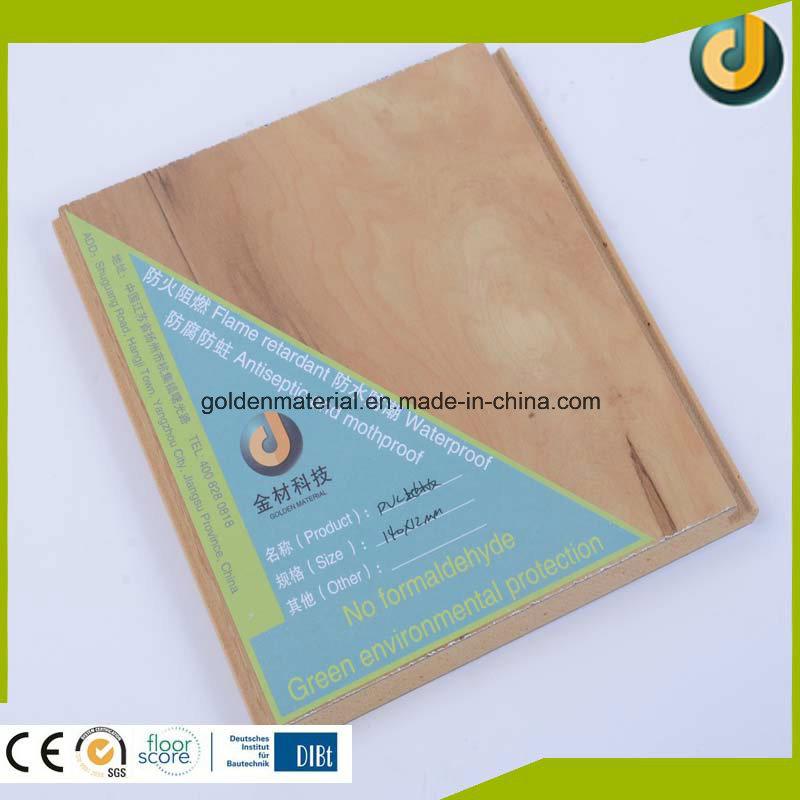 Factory Manufactury Plastic Wooden PVC Vinyl Flooring Interior on Sale