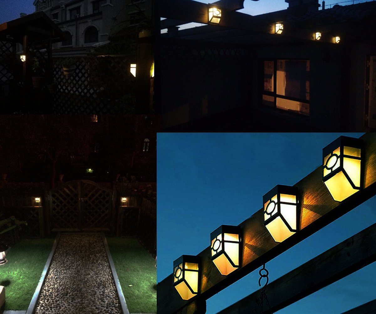 Solar Powered Lights for House Outdoor, Landscape, Garden, Fence etc.