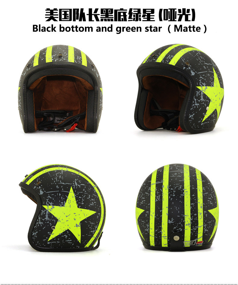 2017 Newest Hlaf Face Motorcycle Helmet From China, ABS, DOT, ECE, Factory Price