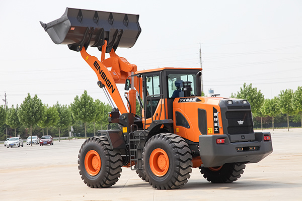 Brand New Modern 5 Ton Front Wheel Loader with Ce Apporved