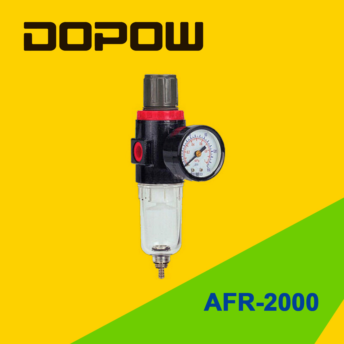 Dopow Pneumatic Air Filter Regulator Afr Bfr Series