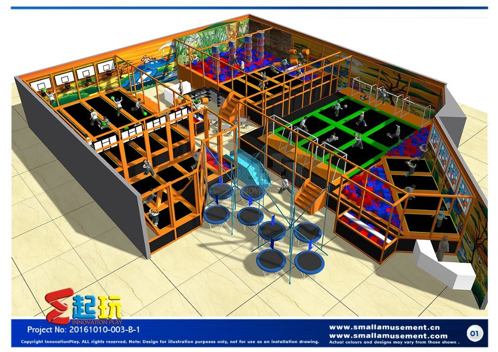 Innovation Play of Trampoline Park