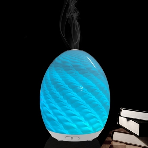 Aroma Diffuser with Glass Cover (GL-1013-A-003)