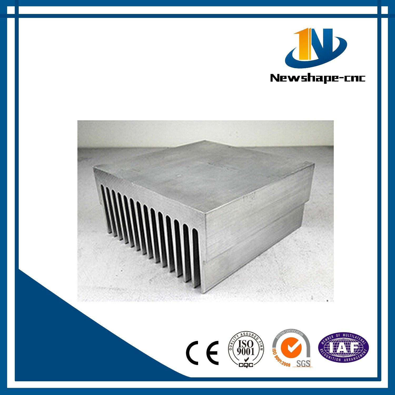 Al Heat Sink Extrusion Aluminum Extrusion Profile
