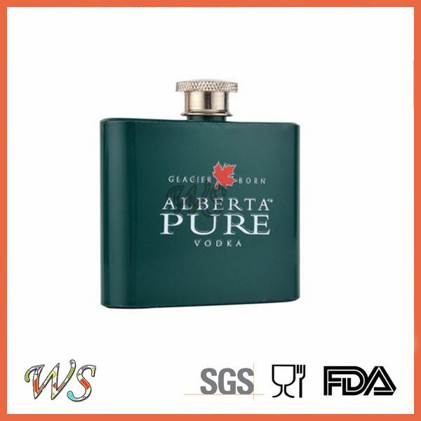 DSC_0068 Stainless Steel Water Bottle/Whisky Hip Flask/Print Liquor Hip Flask