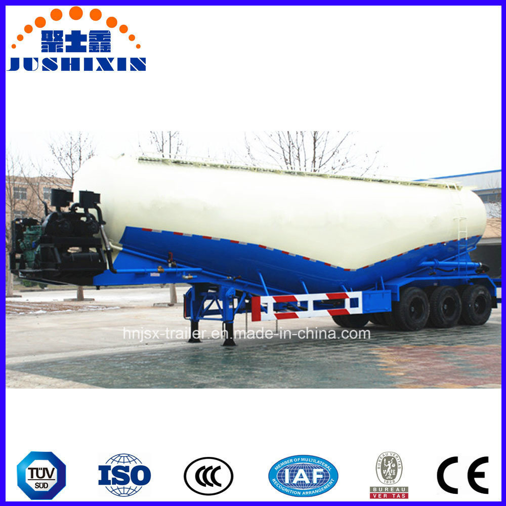 3 Axles Bulk Cement Powder Tank Trailer