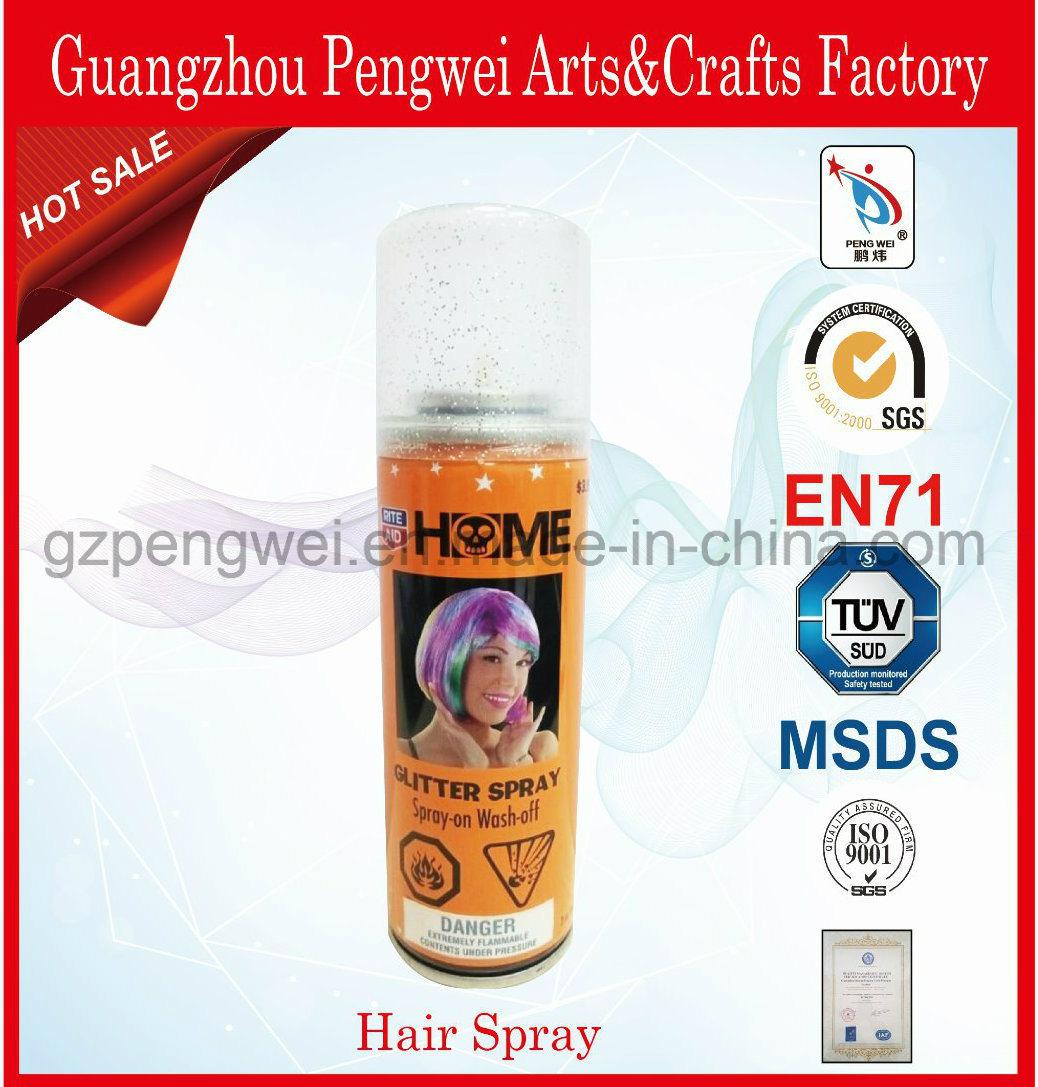 Cheapest Temporary Washable Glitter Hair Color Spray