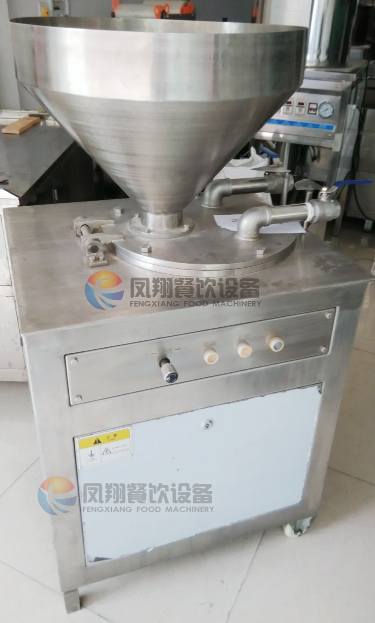 Double Tube Type Optional Size Automatic Electric Sausage Filling Stuffing Making Machine