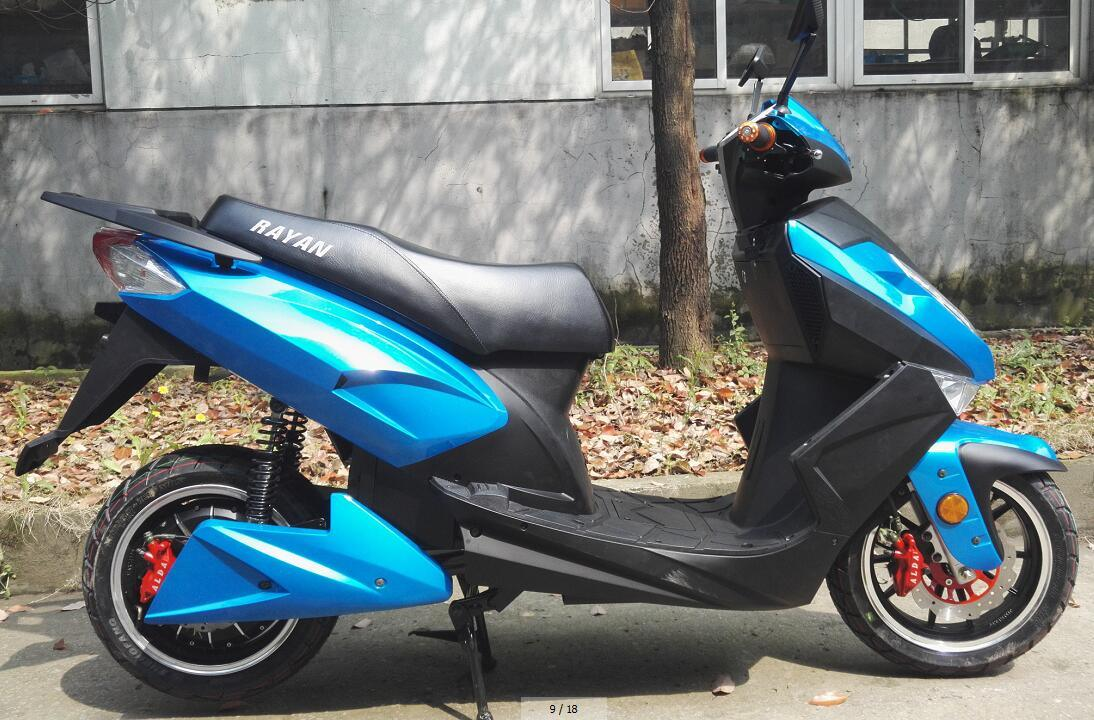 Manufactory Hot Sales 1000W / 1500W / 2000W 72V20ah South America Electric Motorcycle