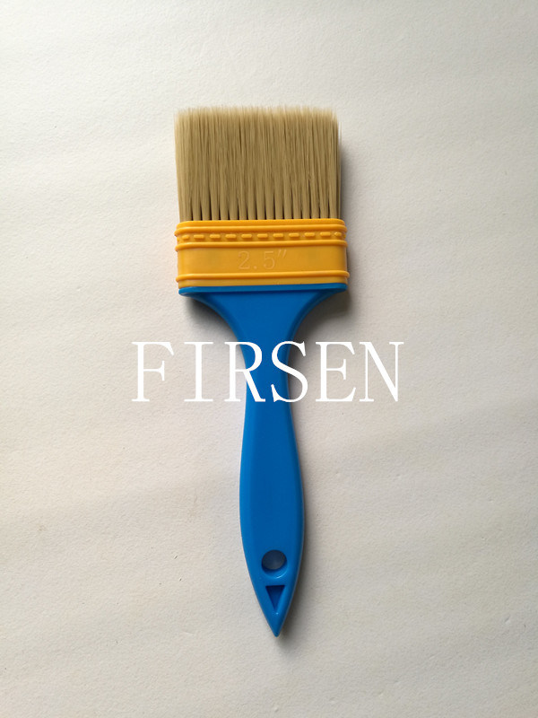 Plastic Handle Plastic Ferrule Paint Brush Set