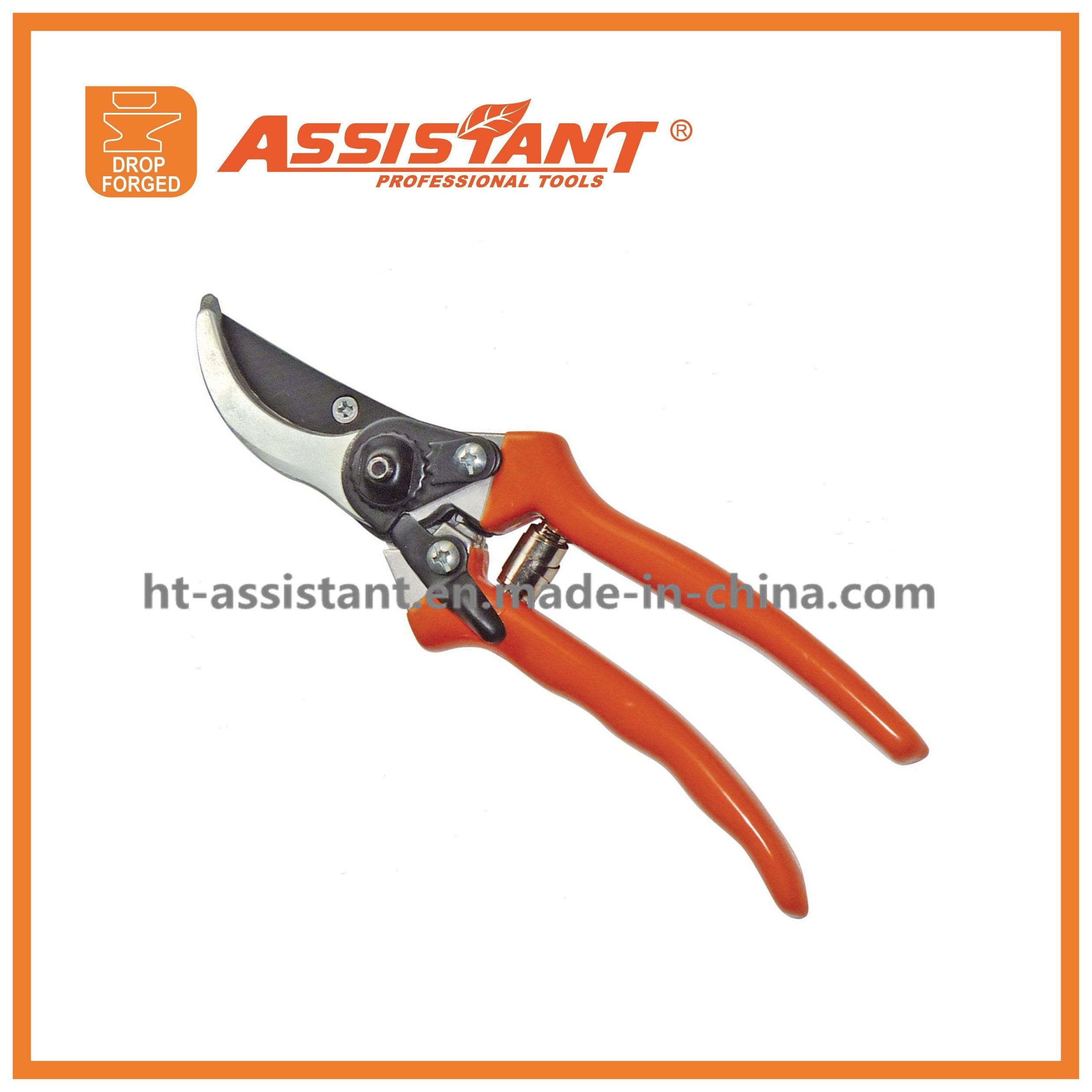 Rose Secateurs Drop Forged Aluminum Handles Bypass Pruning Shears