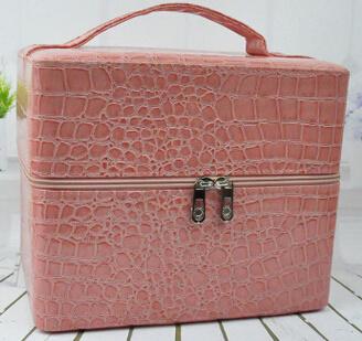 PU Beauty Multilayer Cosmetic Storage Box