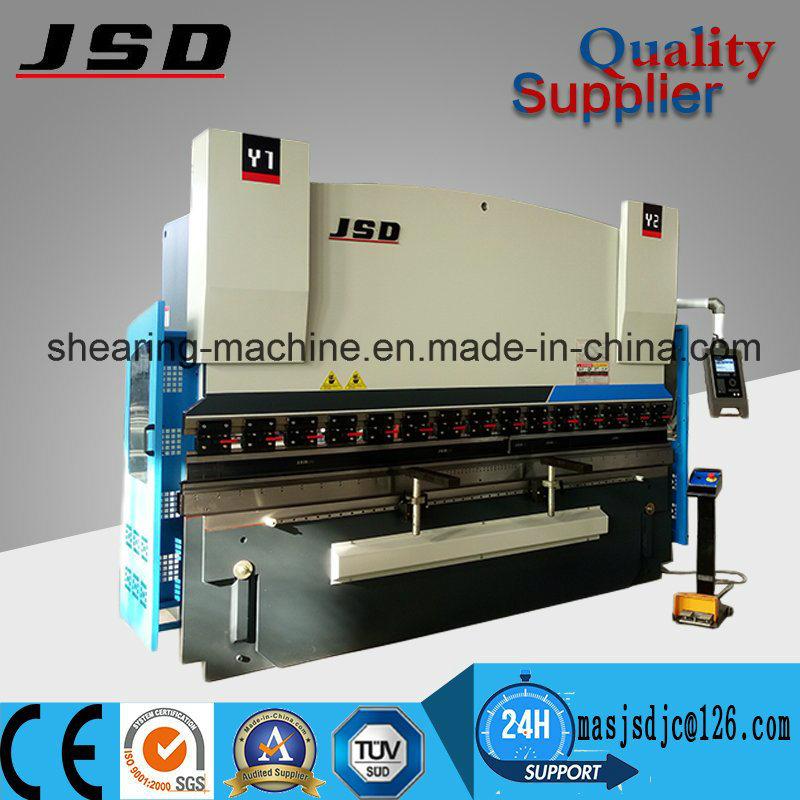 Jsd 100t Automatic Bending Machine with Delem Da52s CNC