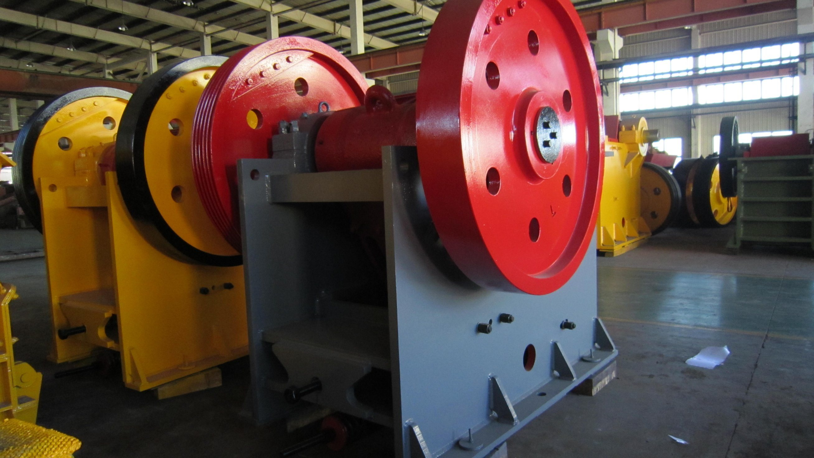Primary Jaw Crusher Quality Welding Type PE600*900