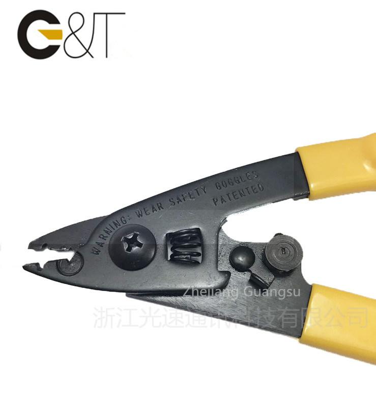2 Hole Fiber Stripper, Fiber Optic Stripper for Fiber Cable, Fiber Cable Stripper