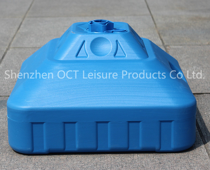 30L Plastic Beach Umbrella Base with Customized Colors