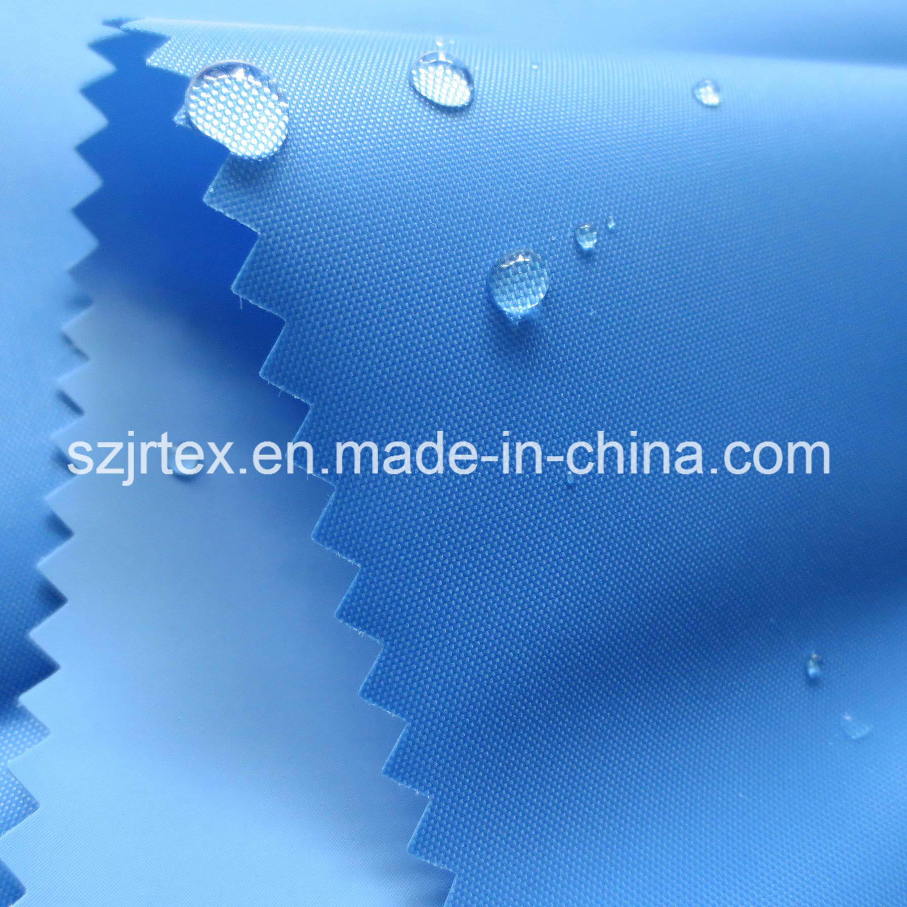 190t Nylon Fabric with Coating Waterproof for Raincoat