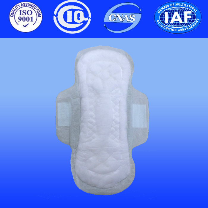 Ladies Sanitary Pad for Women Sanitary Towel with Anion Sanitary Napkin (PC041)