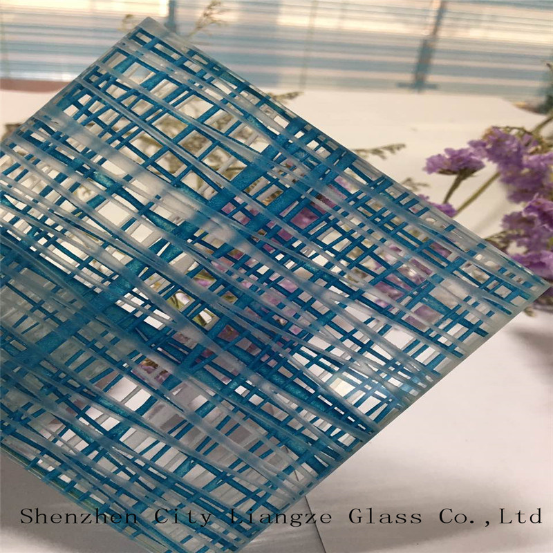 5mm+5mm Customized Art Glass/Laminated Glass/Tempered Laminated Glass/Safety Glass for Decoration