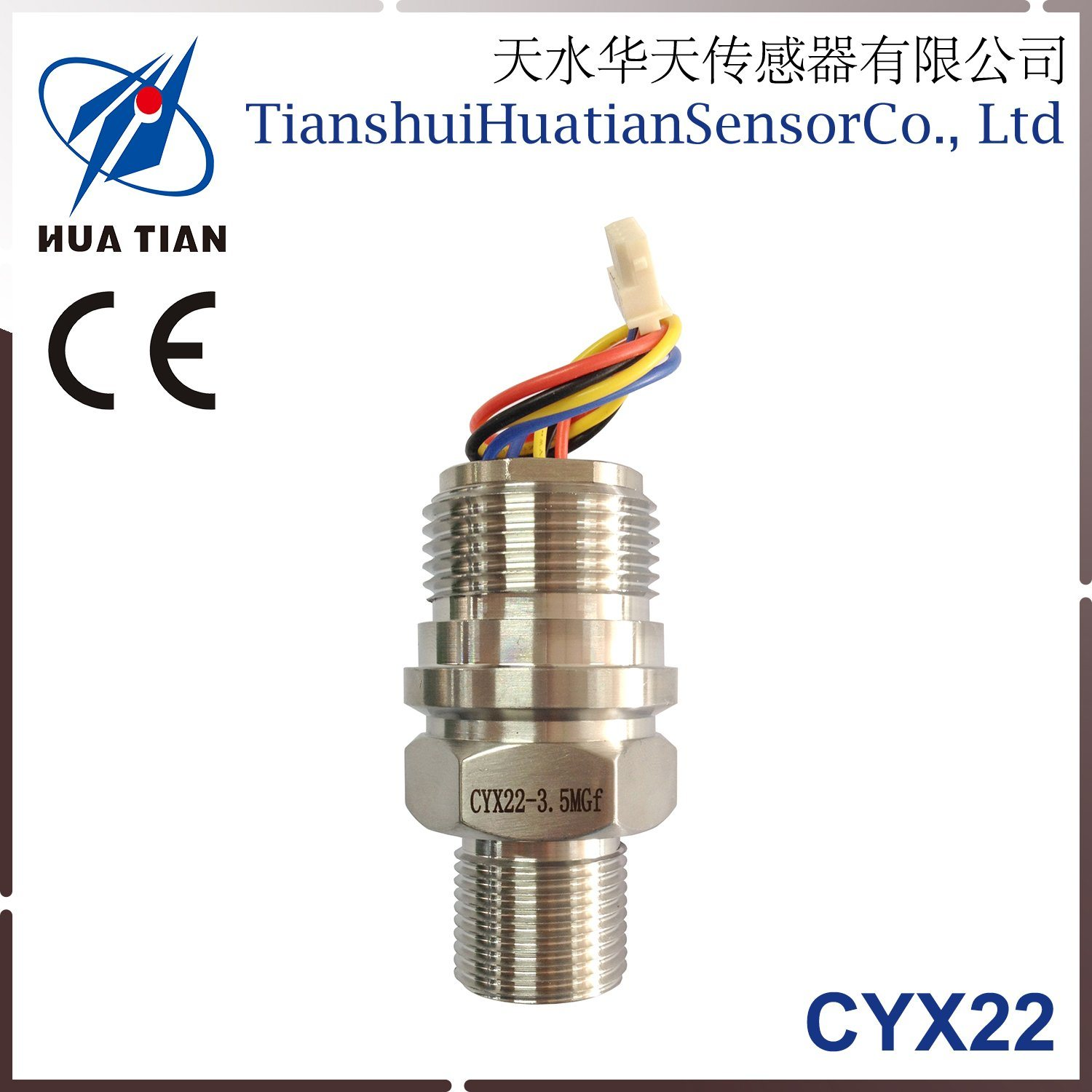 Cyx-22 Threaded Stainless Steel Pressure Sensor