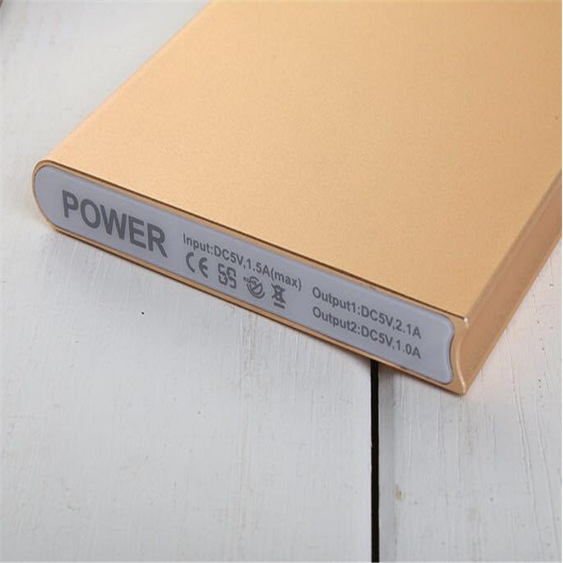 8000mAh New Book Shape Power Bank with iPhone Port Power Charger