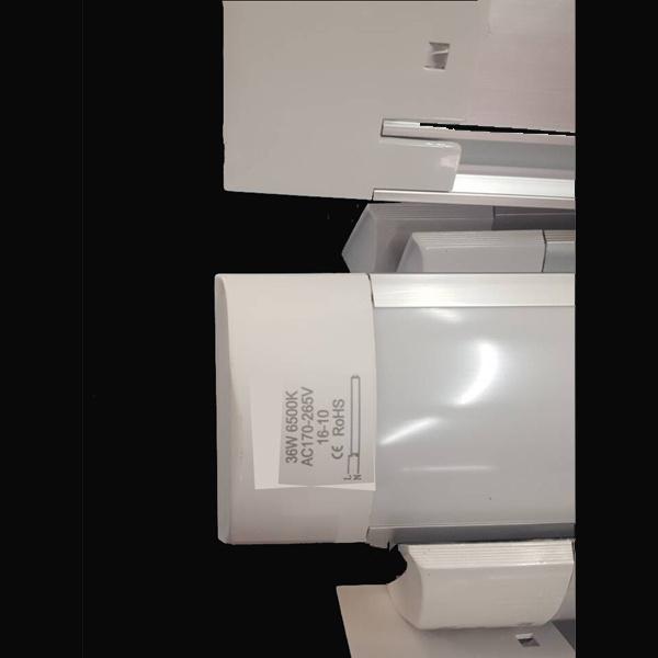 LED Dust Proof Tube Light-Flat Cap--18W-0.6m