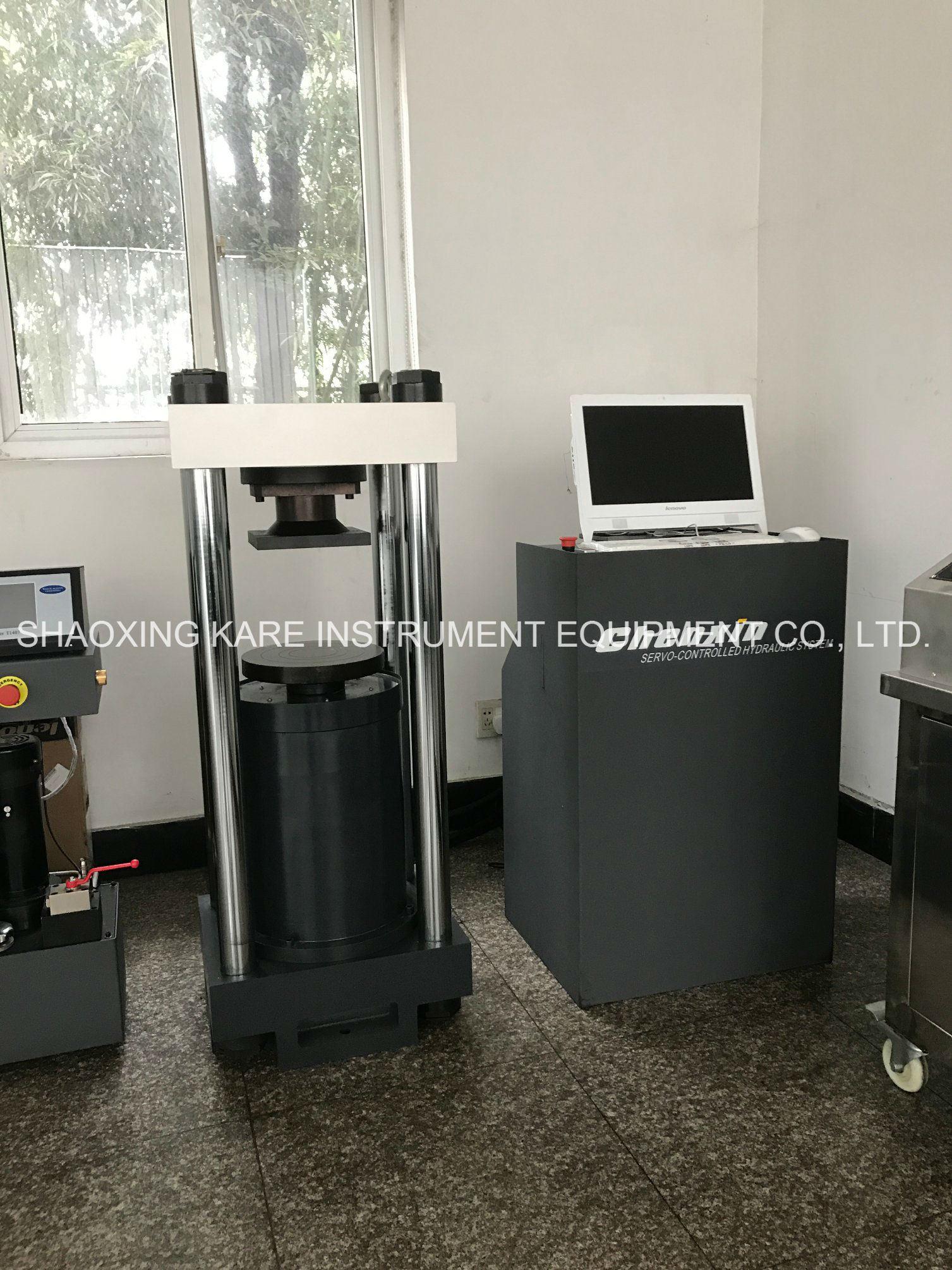 Computerized Electro-Hydraulic Servo Compression Testing Machine (YAW-2000)