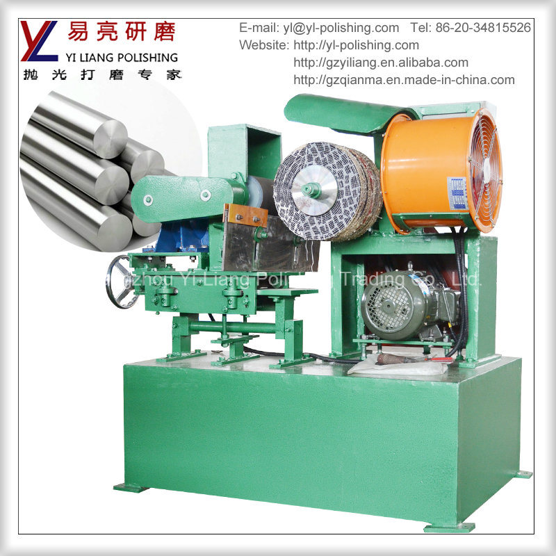 Centerless Round Tube and Circle Pipe Grinding Polishing Machine