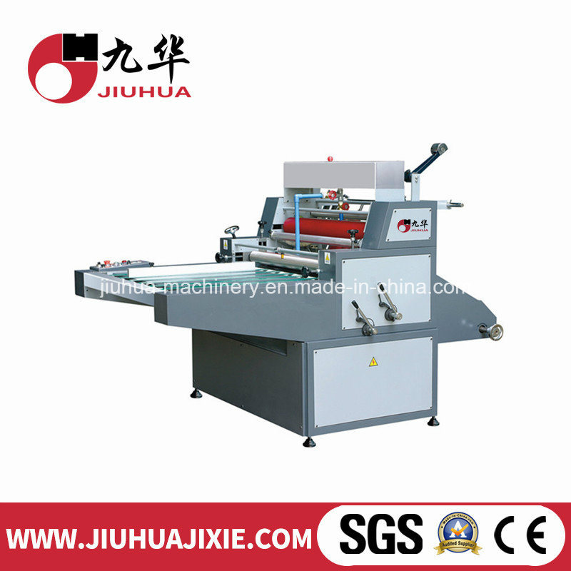 Manual Window Water Based Laminating Machine for Paper with Hole