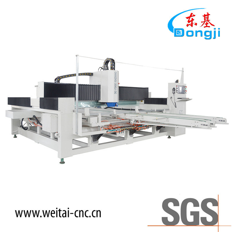 CNC Glass Edging Polishing Machine for Furniture Glass