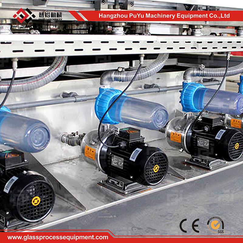 Horizontal Glass Washer for Automotive Glass